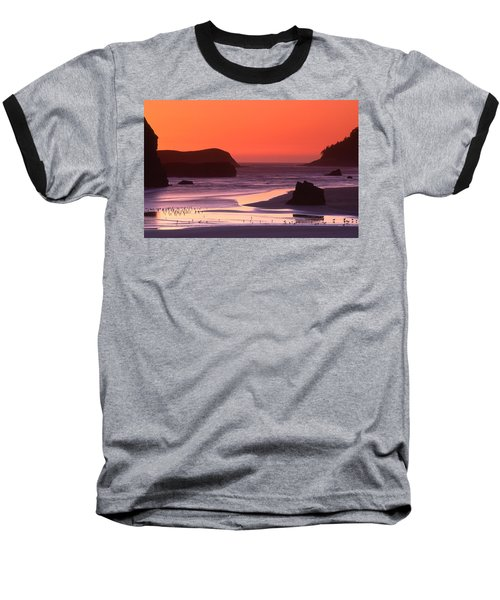 Myers Creek Sunset Baseball T-Shirt