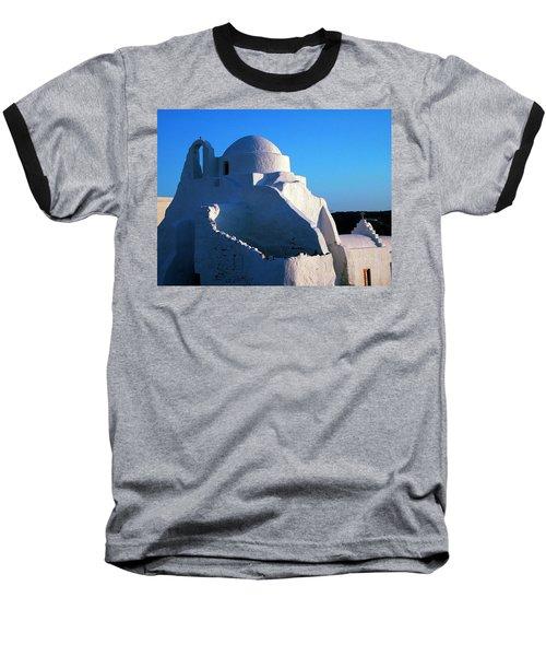 Baseball T-Shirt featuring the photograph Mykonos Island Greece by Colette V Hera  Guggenheim
