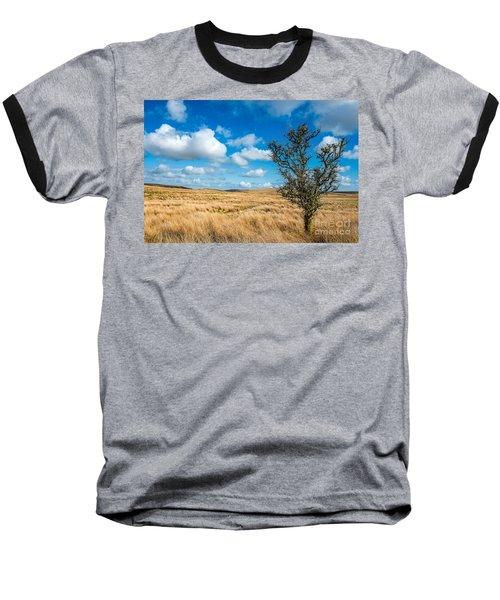 Mynydd Hiraethog Baseball T-Shirt