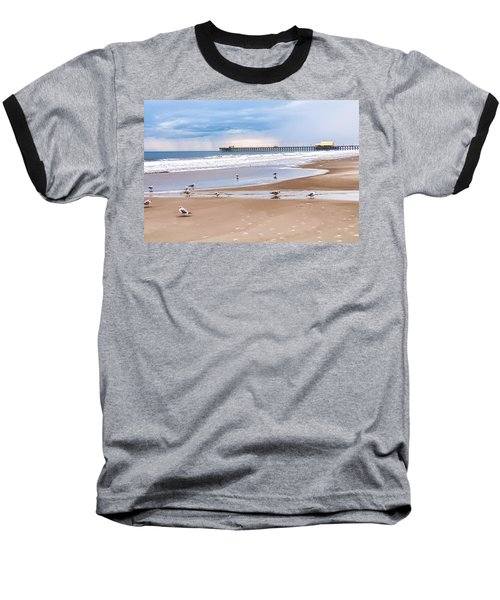 Myrtle Beach - Rainy Day Baseball T-Shirt