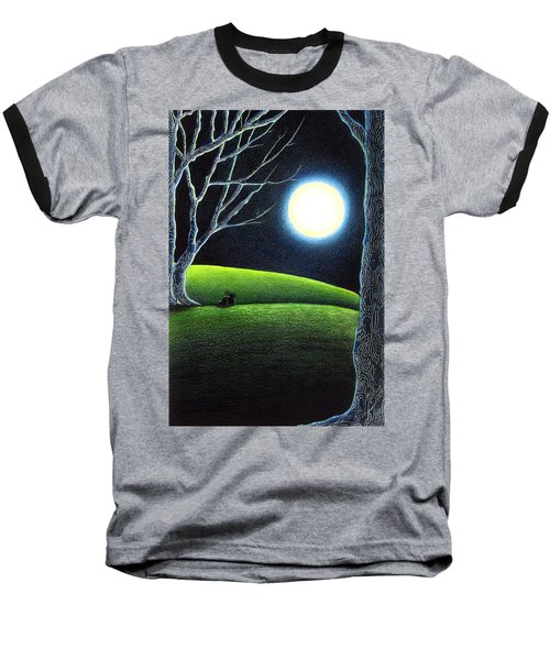 Mystery's Silence And Wonder's Patience Baseball T-Shirt