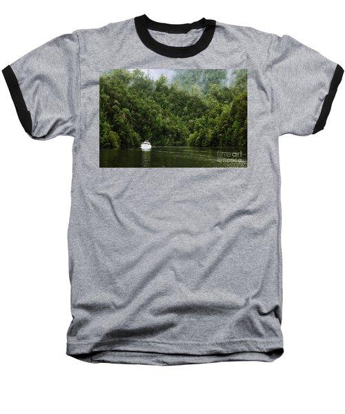 Mystic River Baseball T-Shirt by Jola Martysz