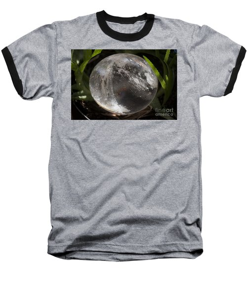 Mystical Crystal Sphere Baseball T-Shirt