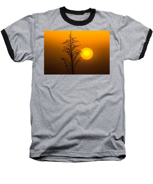Mystical Sunset Baseball T-Shirt by Shelby  Young