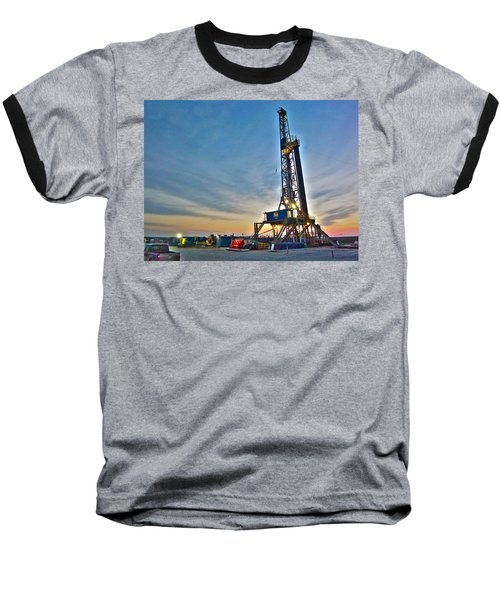 Nabors Rig In West Texas Baseball T-Shirt