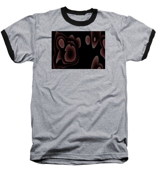 Baseball T-Shirt featuring the digital art Nachdem by Jeff Iverson