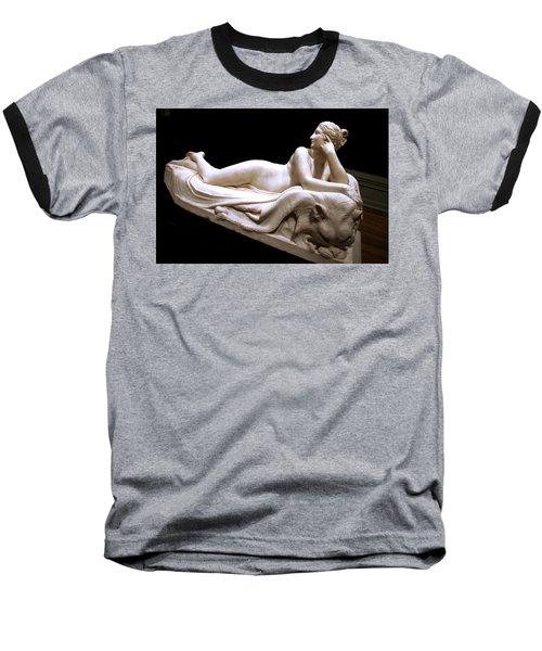 Baseball T-Shirt featuring the photograph Canova's Naiad by Cora Wandel