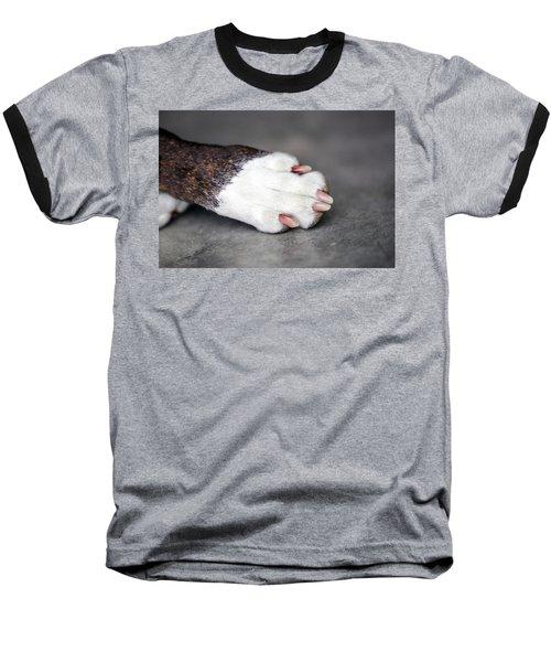 Nail Biter Baseball T-Shirt by Sennie Pierson