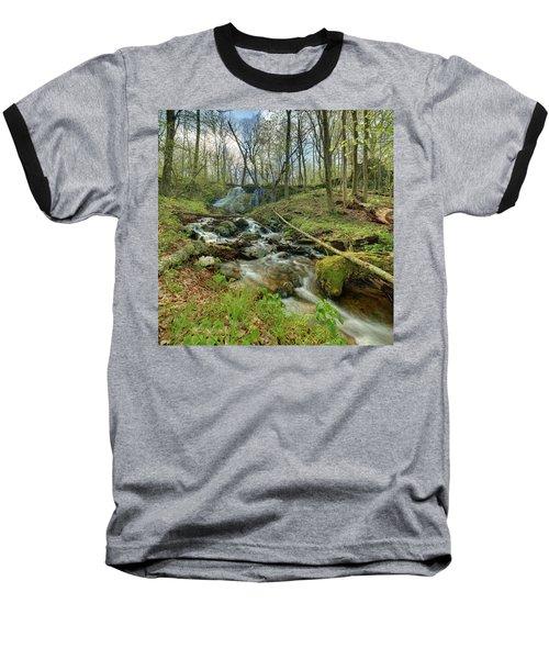 Naked Creek Falls Baseball T-Shirt