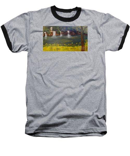 Nandroy Falls In Queensland Baseball T-Shirt
