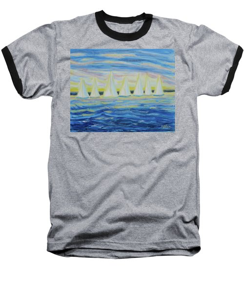 Nantucket Sunrise Baseball T-Shirt