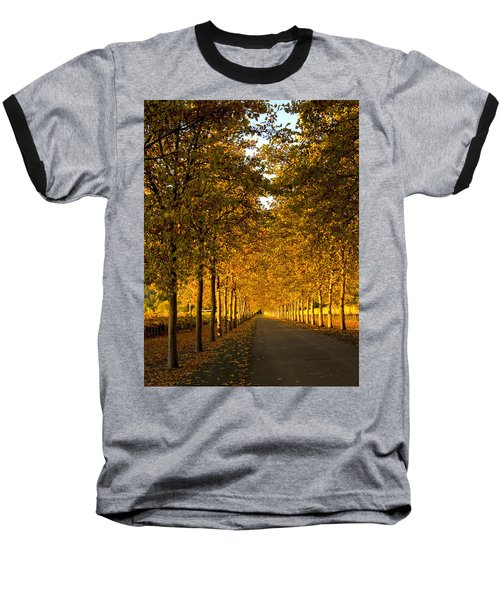 Napa Valley Fall Baseball T-Shirt by Bill Gallagher