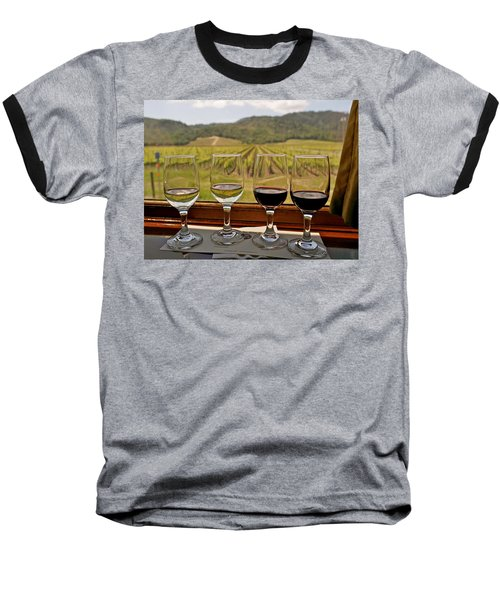 Napa Valley Wine Train Delights Baseball T-Shirt