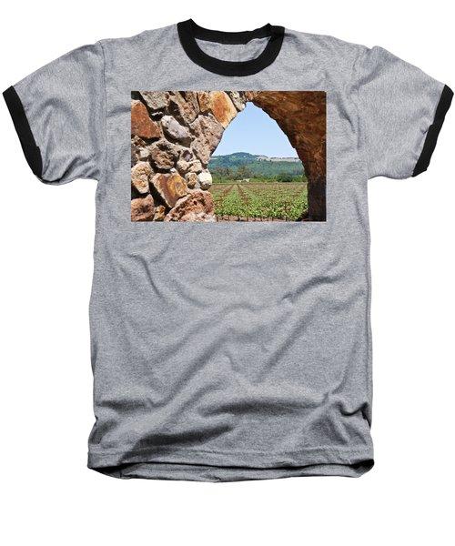 Napa Vineyard Baseball T-Shirt