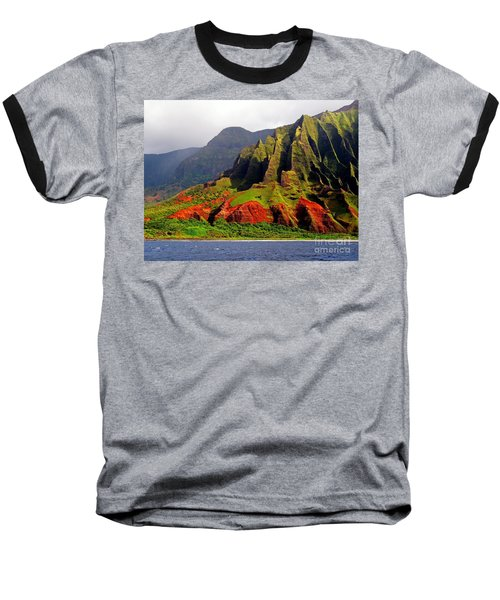 Napali Coast II Baseball T-Shirt