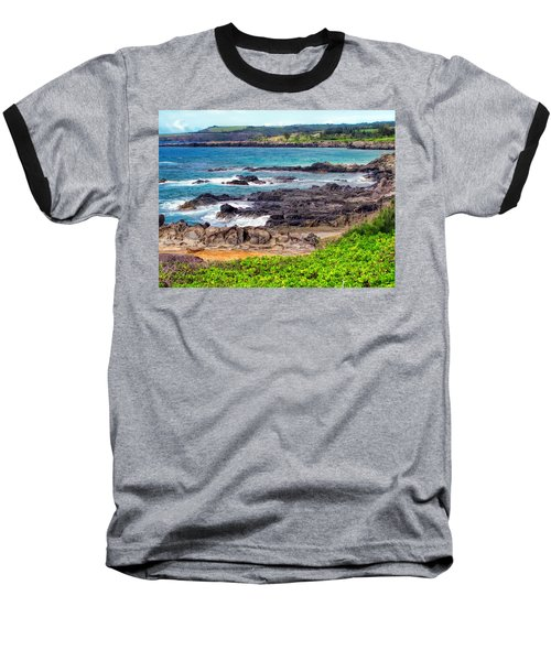 Napili 70 Baseball T-Shirt by Dawn Eshelman
