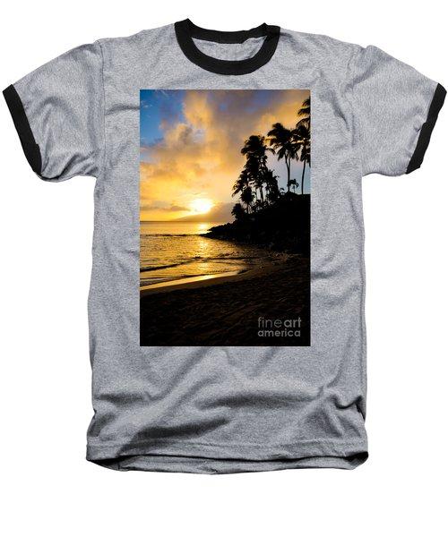 Napili Sunset Evening  Baseball T-Shirt