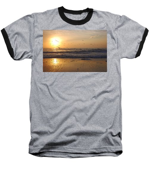 Naples Beach Baseball T-Shirt
