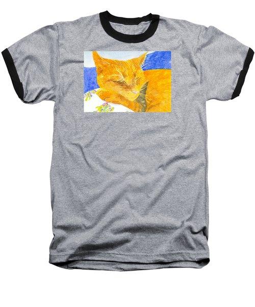 Nappy Cat Baseball T-Shirt