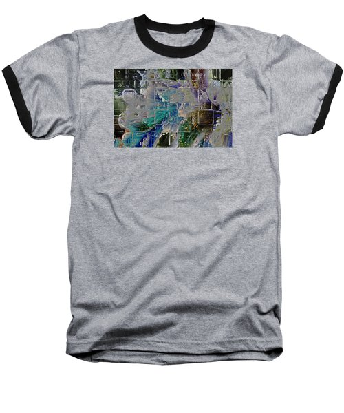 Narrative Splash Baseball T-Shirt by Richard Thomas