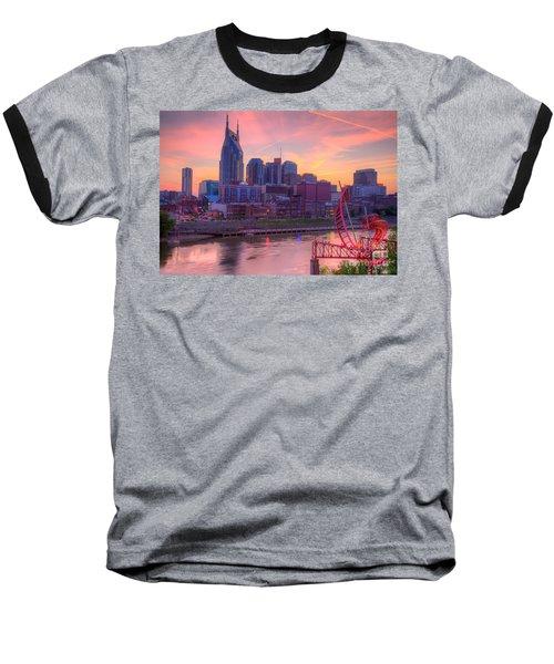 Nashville Sunset Baseball T-Shirt
