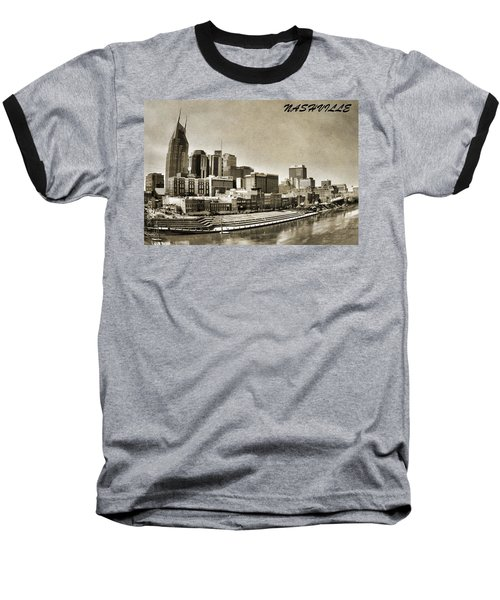 Nashville Tennessee Baseball T-Shirt by Dan Sproul