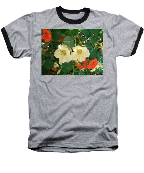 Nasturtiums Baseball T-Shirt