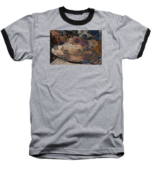 National Park Service Ranger Hat Baseball T-Shirt by John Stephens