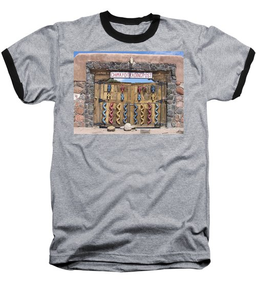Baseball T-Shirt featuring the photograph Native American Trading Post by Dora Sofia Caputo Photographic Art and Design