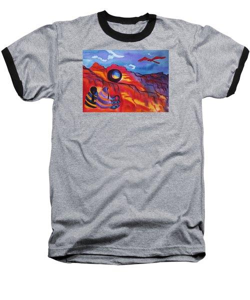 Native Women At Window Rock Baseball T-Shirt