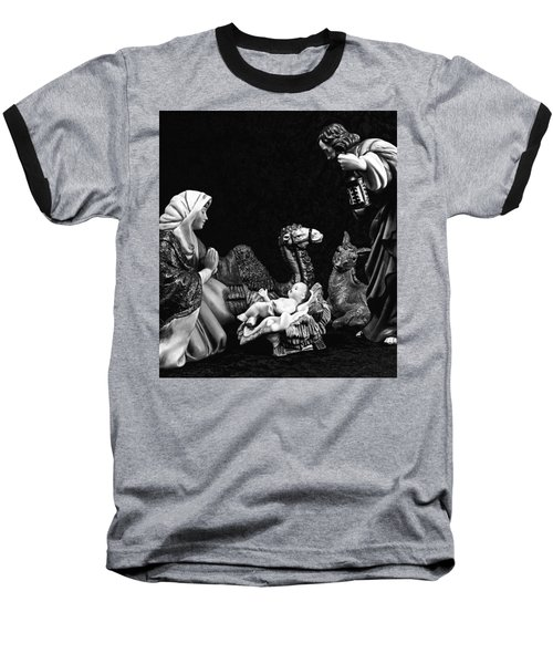 Baseball T-Shirt featuring the photograph Nativity  by Elf Evans