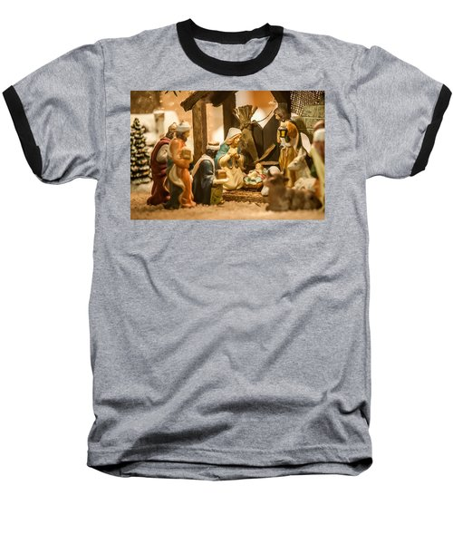 Baseball T-Shirt featuring the photograph Nativity Set by Alex Grichenko