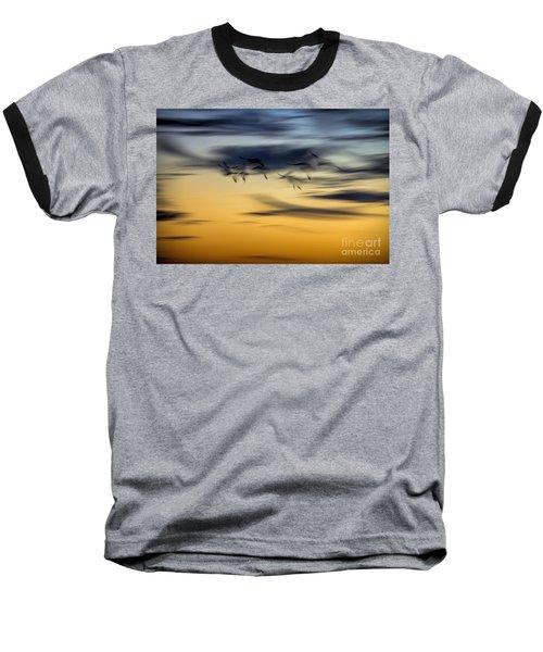 Natural Abstract Art Baseball T-Shirt