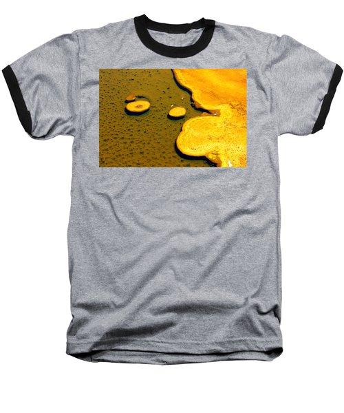 Natural Abstract Baseball T-Shirt