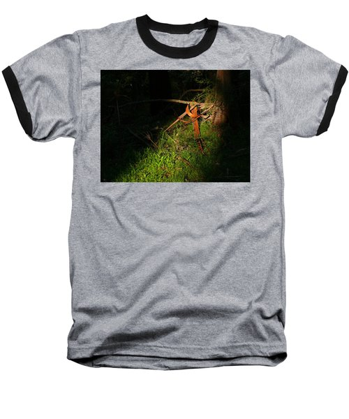 Baseball T-Shirt featuring the photograph Natural Bands 2 by Evelyn Tambour