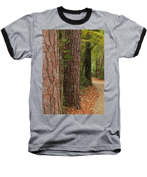 Natural Beauty Baseball T-Shirt by Connie Fox