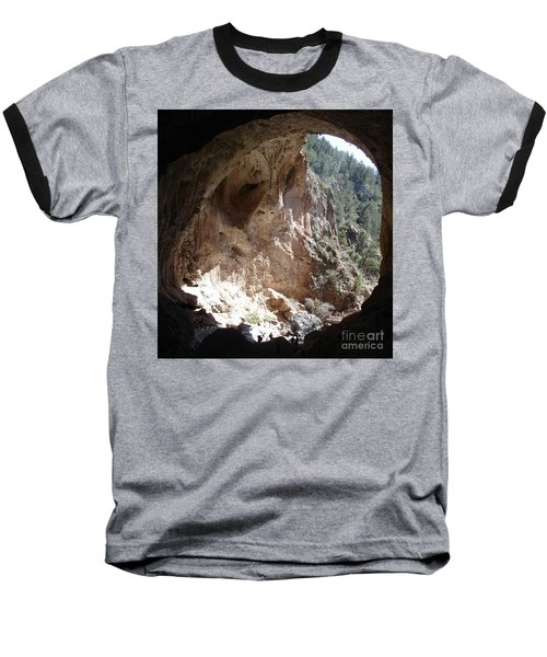 Natural Bridge View Baseball T-Shirt