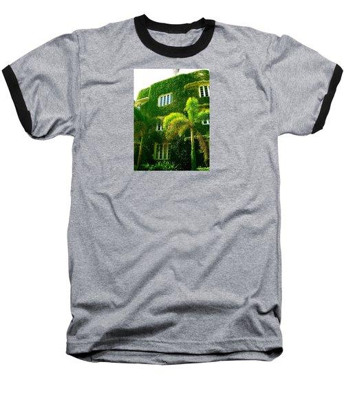 Natural Ivy House Baseball T-Shirt