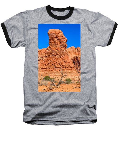 Baseball T-Shirt featuring the photograph Natural Sculpture by John M Bailey