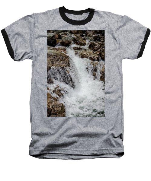 Naturally Pure Waterfall Baseball T-Shirt