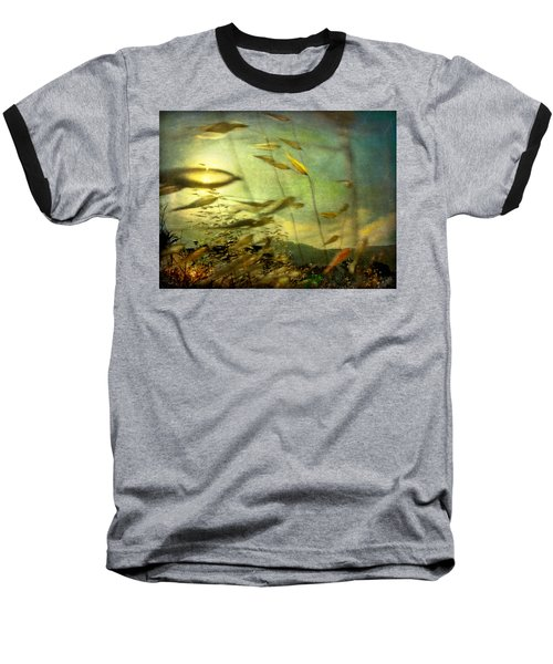 Nature #12. Strong Wind Baseball T-Shirt by Alfredo Gonzalez
