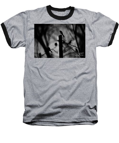 Baseball T-Shirt featuring the photograph Nature In The Slums by Jessica Shelton