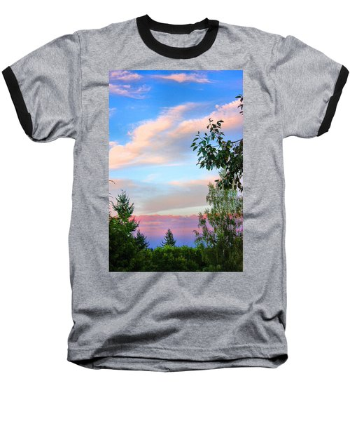 Baseball T-Shirt featuring the photograph Nature Palette by Kristin Elmquist