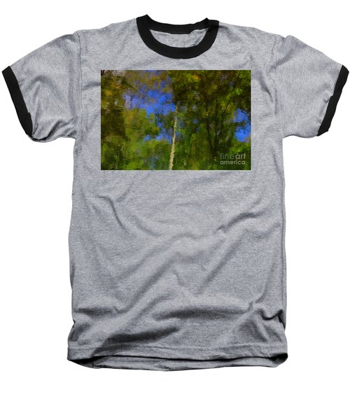 Nature Reflecting Baseball T-Shirt by Melissa Petrey