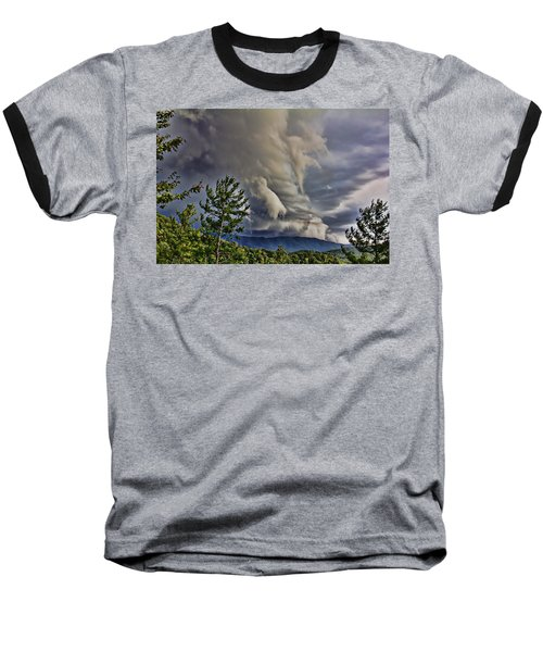Nature Showing Off Baseball T-Shirt by Tom Culver