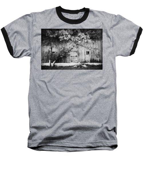 Natures Awning Bw Baseball T-Shirt