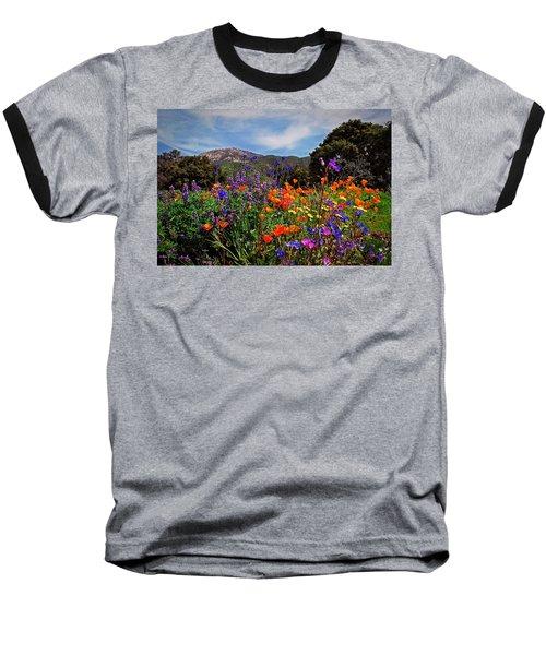 Nature's Bouquet  Baseball T-Shirt by Lynn Bauer
