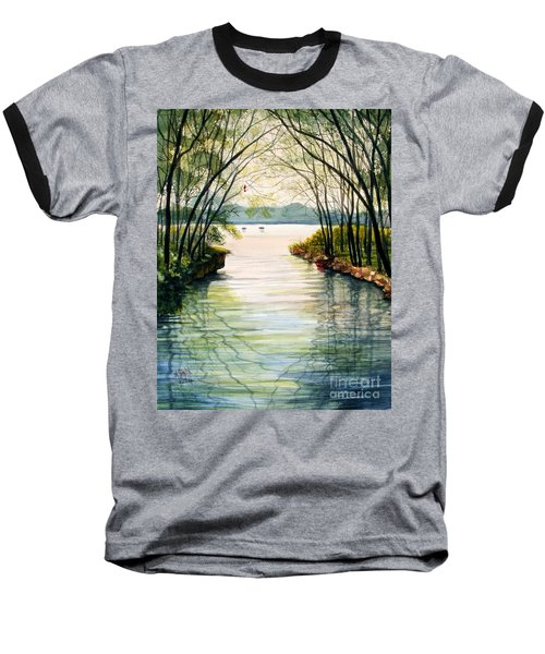Nature's Cathedral Baseball T-Shirt