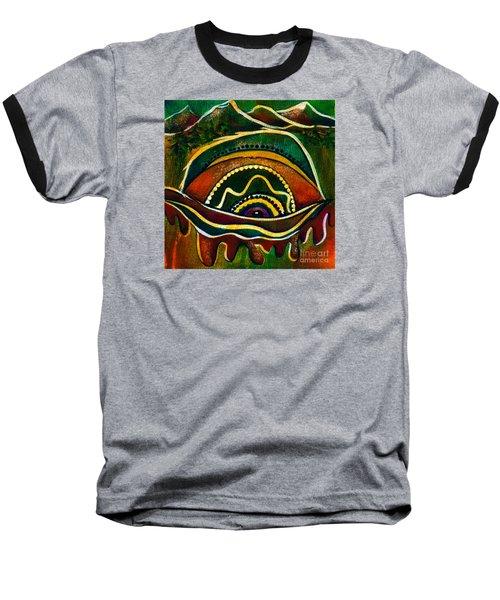 Nature's Child Spirit Eye Baseball T-Shirt