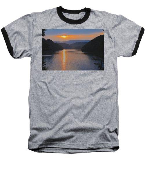 Natures Eyes Baseball T-Shirt by Tom Culver
